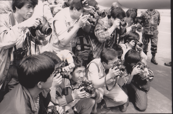 Crammin' Korean Cameramen