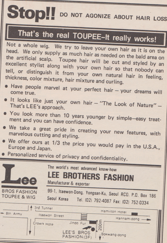 Can you cut a G.I.'s hair?